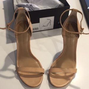Banana Republic Holland strap heels